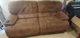 Reclining Double sofa perfect condition