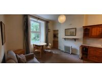Furnished 1 bed 1st floor flat - Toll Cross - Long Term - Traditional Tenement - Available 1st April