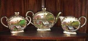 Sadler Abbey Falls Vintage Tea Set PERFECT CONDITION Pottery Arundel Gold Coast City Preview
