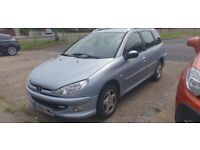 PEUGEOT 206 ESTATE SPORTS ( PX/SWAPS WELCOME )