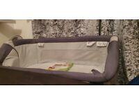 Chicco Next2me Dream Side Sleeping Crib - Graphite Grey n