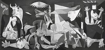 RAVENSBURGER ART PANORAMA PICASSO GUERNICA 1937 2000 PEZZI 132x61 CM ART 16690