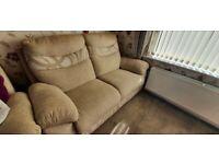 Sofa - 2 seater hardly used.