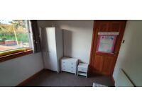 3 Piece 2 Door Wardrobe Set - White