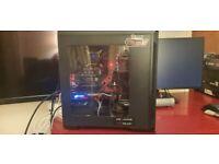 Gaming pc + Gaming monitor 2k 144Hz