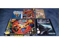 6 Amiga games job lot