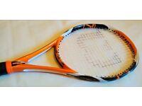 Two Tennis Rackets Wilson K-Zen & Prince POG Grip L3