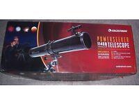Telescope as new boxed - Celestron Powerseeker 114EQ