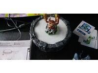 Nitendo Wii Game bundle Spyro Adventure skylanders ,8 figures , portal and game bundle
