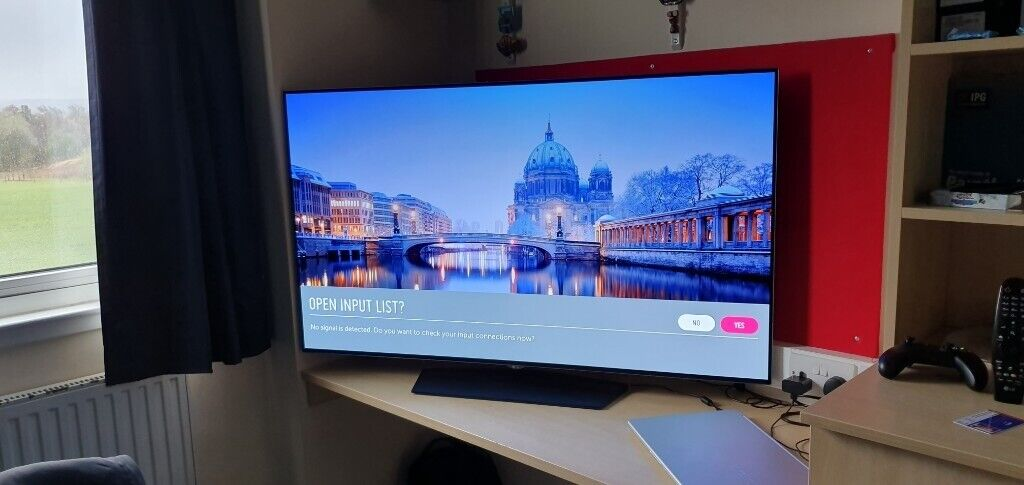 55inch LG OLED B7, WITH WARRANTY | in Musselburgh, East Lothian | Gumtree