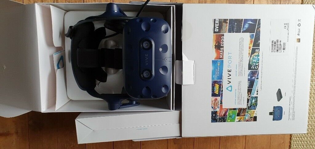HTC vive Pro HMD (Price reduction) | in Bridgnorth, Shropshire | Gumtree