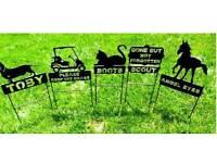 Pet grave or memorial