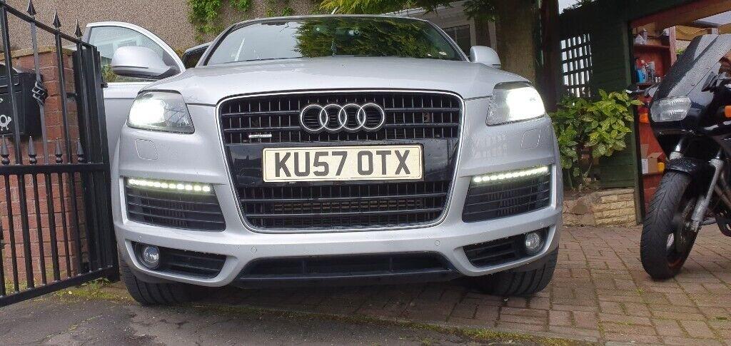 Audi Q7 Specs >> Audi Q7 3 0 Tdi S Line Tiptronic Quattro 5dr Huge Specs Rear