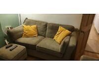 3 peice sofa set