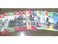 MODEL RAILWAY NEWS BUMPER BUNDLE - 14 COPIES - 1952 - 1967