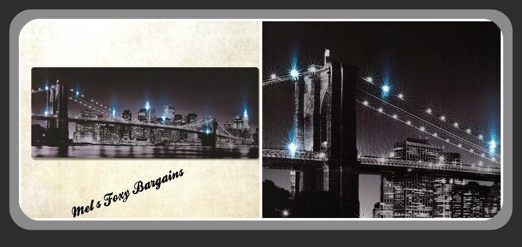 LED New York Canvas, Brand New