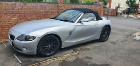 image for BMW z4 2.5 2003 - silver, red leather, xenon, aux, heated seats