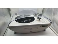 GPO ALL IN ONE TURNTABLE, CD PLAYER, VYNAL, RADIO, USB