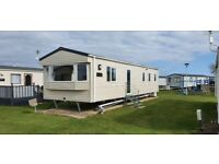 3 bed caravan to hire/rent on West Sands, Selsey, bunn Leisure. Weekend avalaible.