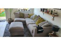 L-shaped Corner Sofa.