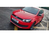 Volkswagen POLO, 2015, RED, Manual, Petrol for sale