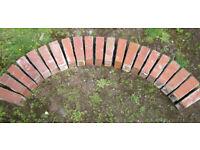 Reclaimed Red Taper Arch Stretcher Bricks