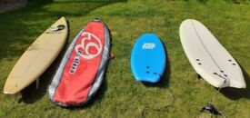 Surfboards - family pack!