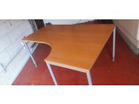 Ikea Effektiv desk, right handed corner desk, was £100 now £80