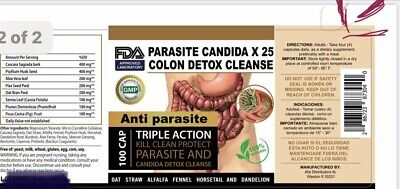Potent Candida Cleanse Infection Treatment and Detox with Herbs Enzymes Yeast #1 1