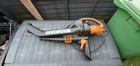 Worx WG501E 3000W 3-in-1 Blower, Mulcher and Vacuum.