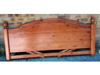 Rosedale Ducal pine 6ft headboard £20