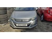 Honda, INSIGHT, Hatchback, 2012, gearbox missing