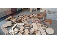 Arts and crafts wooden bundle