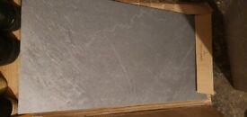 💎💎 Vileroy & Bosh Grey Porcelain Floor tiles : 3 large pieces💎💎