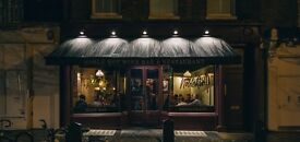 Runner wanted for Noble Rot Wine Bar & Restaurant in central London