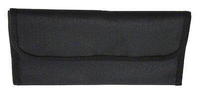 Black Lens Filter Wallet Case mesh pockets fit filters 49mm 52mm 55mm 58mm 62mm