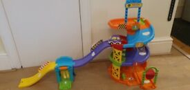 VTech Baby Toot-Toot Drivers Parking Tower Songs & Music 12m+ Description