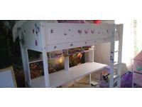Bunk bed / desk combination
