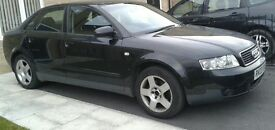 black audi a4 1.9 tdi 130 bhp full service history bullet proof engine. not golf a3 or seat Leon.