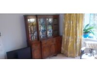 Bookcase and writing desk
