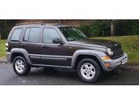 JEEP CHEROKEE 2.8 TDI SPORT AUTO 4X4 2006 REG FULL SERVICE HISTORY DRIVES PERFECT CLEAN CAR P/X WELC