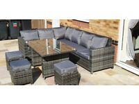 ****SOLD****Rattan garden furniture set