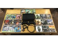 Sony PS3 Supper Slim 300gb + 2 Controllers + 21 Games
