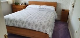 Solid Oak King Size Bed (Belgica)