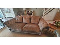DFS Country Living Fabric Sofa