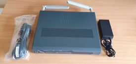 Cisco 881G Router with 3G backup inc UK PSU and antennas