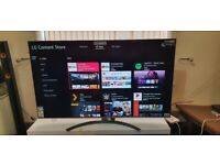 LG 65 INCH 65NANO866NA SMART 4K NANOCELL UHD HDR LED TV WITH WIFI, APPS, FREEVIEW & FREESAT HD