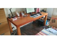 Dining table / desk (Cherry wood)