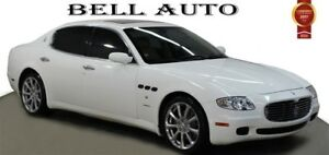 2008 Maserati Quattroporte LUXURY NAVIGATION SUNROOF