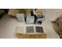 3 boxes of small square tiles 10 x 10cm